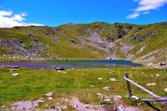 Rodella lake, sud tyrol italy. Rodella lake, Velturno, 2196 meters sud tyrol italy royalty free stock photo