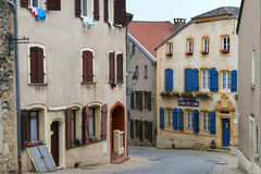 Rodemack, a beautiful medieval village in France Stock Image