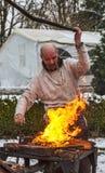 Blacksmith działanie Fotografia Stock