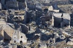 Roden demolito villaggio Fotografia Stock