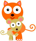 Rodent's love Stock Images