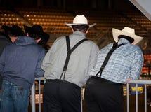 Rodeoåskådare Arkivbild