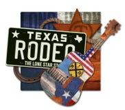 Rodeo Art Texas Steer foto de archivo