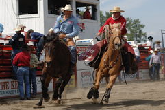 Rodeo: Bareback Riding Royalty Free Stock Photography