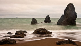 Rodeo Beach. On the north side of the Marin Headlands in Golden Gate National Park Royalty Free Stock Photos