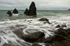 Rodeo Beach. On the north side of the Marin Headlands in Golden Gate National Park Royalty Free Stock Images