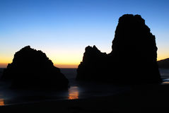 Rodeo Beach California Royalty Free Stock Images