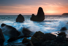 Rodeo Beach, San Francisco California. Rodeo Beach is a beach in the Golden Gate National Recreation Area located in Marin County, California, two miles north of Royalty Free Stock Photo