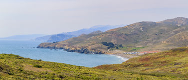 Rodeo Beach View from top Royalty Free Stock Photo