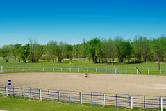 Rodeo-Boden Stockfoto