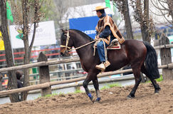 Rodeo in chile Stock Photos