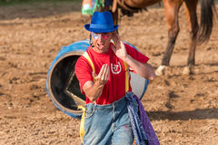 Rodeo Clown Royalty Free Stock Photography