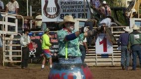 Rodeo Clown stock video
