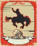 Rodeo cowboy. Stock Photos