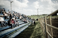 Rodeo and cowboys. Canadian pro rodeo in Airdrie Alberta Canada. Western rodeo in 2011 stock images