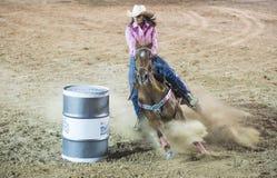 Rodeo di giorni di Helldorado fotografie stock