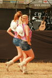 Rodeo Dolls. Female dance group Royalty Free Stock Photo