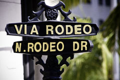 Rodeo Dr Stock Images