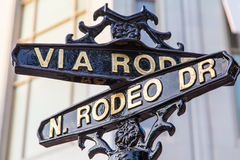 Rodeo Dr Obrazy Royalty Free