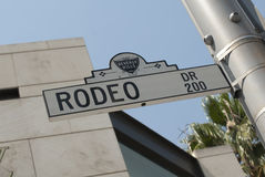 Rodeo Dr Beverly Hills Stock Photos
