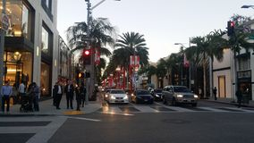 Rodeo Dr Stock Photography