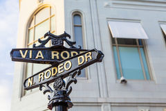 Rodeo Dr Royalty Free Stock Photos