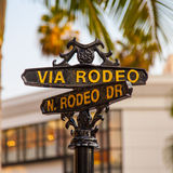 Rodeo Dr Stock Image