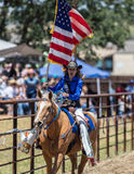 Rodeo Drill Team Royalty Free Stock Photos