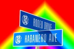 rodeo drive Fotografia Stock