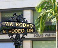 Rodeo Drive Photos stock