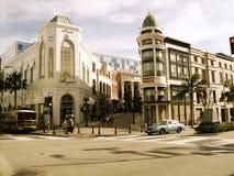 Rodeo Drive, Beverly Hills, California Fotografie Stock Libere da Diritti