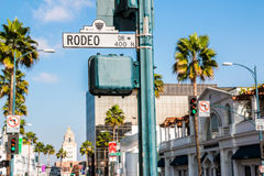 Rodeo Drive Beverly Hills Stock Photography