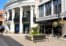 Rodeo Drive, Beverly Hills, Etats-Unis image stock