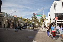 Rodeo Drive, Beverly Hills, United States Royalty Free Stock Photography