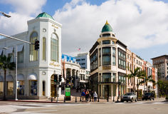 Free Rodeo Drive In Beverly Hills Stock Image - 13121771