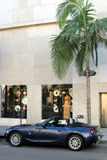 Rodeo Drive, Los Angeles. Luxury car Stock Photo