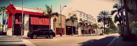 Rodeo Drive. In Los Angeles, California Stock Image