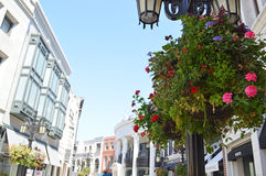 Rodeo Drive in Los Angels. The image of Los Angels, USA Stock Photography