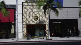 Rodeo Drive stock footage