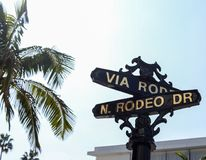 Rodeo Drive Stock Photos