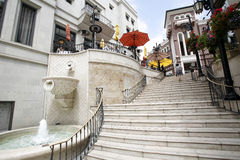 Rodeo Drive Shoping Center in Beverly Hills Stock Image