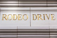 Rodeo Drive Royalty Free Stock Photos