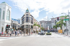 Rodeo drive street Stock Photography