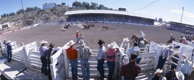 rodeo dzień ellensburg pracy rodeo zdjęcie royalty free