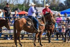 Rodeo för 2018 FAWE Royaltyfri Foto