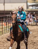 Rodeo Gal Stock Image