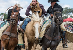 Rodeo Helpers Royalty Free Stock Photography