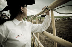 Rodeo i kowboje Zdjęcie Royalty Free