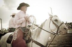 Rodeo i kowboje Zdjęcie Stock