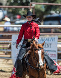 Rodeo-Königin Lizenzfreie Stockbilder